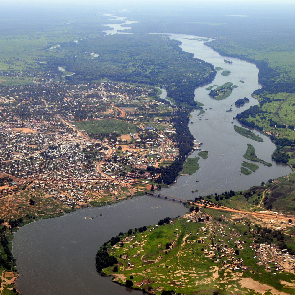 National Capital, Juba - Aerial View
